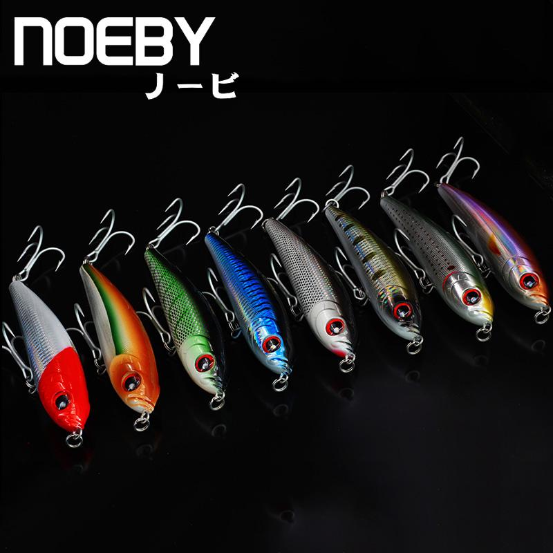 [해외]NOBY 1PCS 낚시 미끼 140mm / 66g 0.8-2.6 침몰 PENCIL Leurre Dur Peche 소중한 바다의 거대한 생체 공학적 미끼가 VMC Treble Hooks를 유혹합니다./NOEBY 1Pcs Fishing Lure 140mm/66g 0