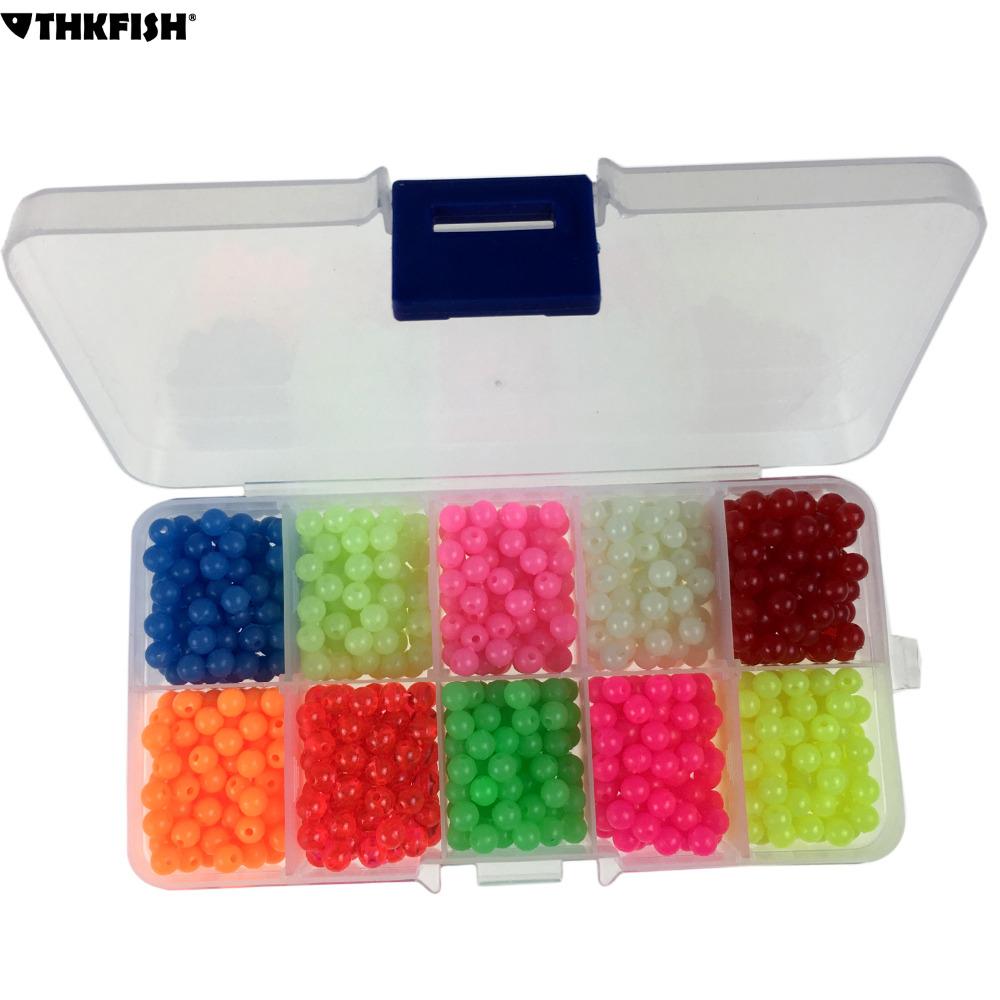 [해외]1000의 PC / 상자 4mm 플라스틱 둥근 빛난 어업 구슬은 어두운 민물 어업기구를 유혹한다 유혹 미끼 부동 미끼 낚시 도구/1000 Pcs/Box 4mm Plastic Round Luminous Fishing Beads Glow InThe Dark Fres