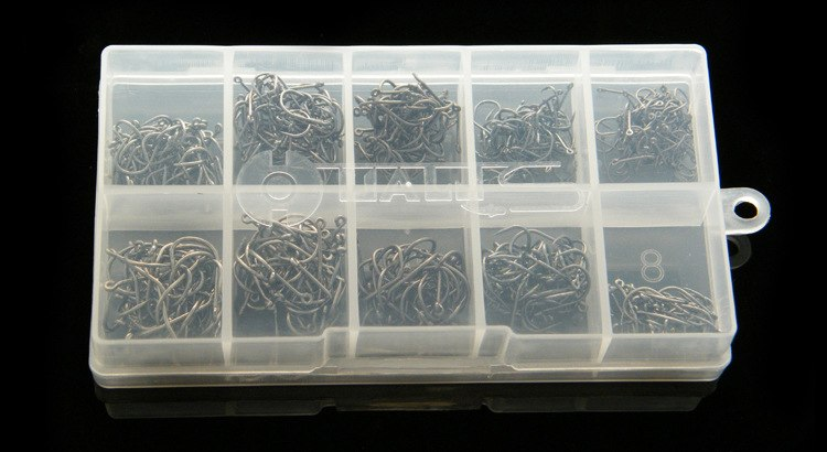 [해외]1000pcs / 2boxes Fishhooks 지그 Barbed HooksBox 잉어 낚시 후크 키트/1000pcs/2boxes  Fishhooks Jig Barbed HooksBox Carp Fishing hooks kit