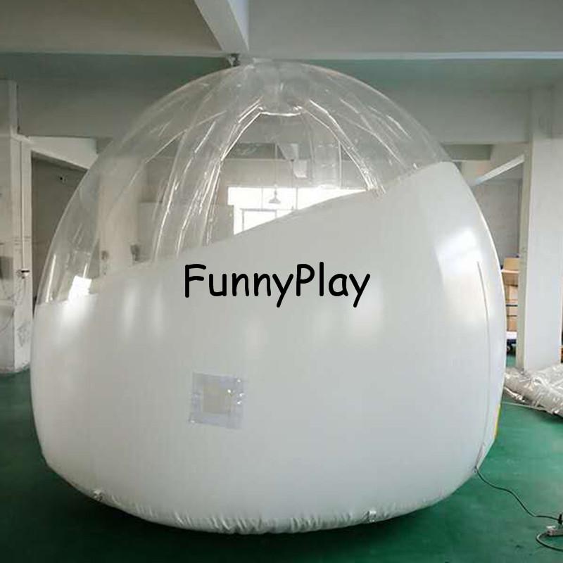 [해외]캠핑 뒷마당 텐트, 풍선 풍선 hotle 하우스, 야외 풍선 버블 텐트 가족 반 흰색 맑은 지붕 스타를 참조하십시오/Camping Backyard tent,inflatable bubble hotle house,Outdoor Inflatable Bubble Ten