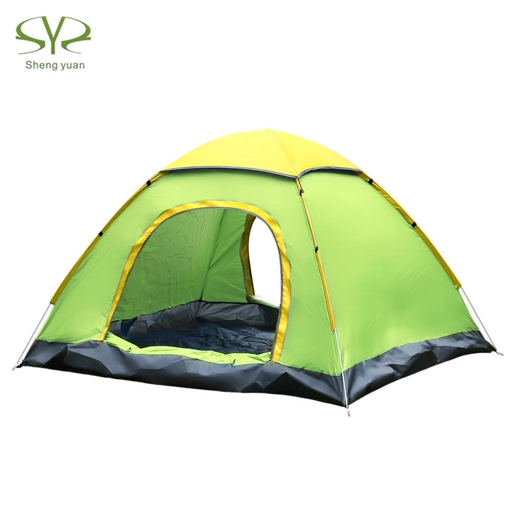 [해외]SHENGYUAN 옥외 방수 자동적 인 즉시 설치 2 개의 문 3 - 4 사람 야영 TentCanopy/SHENGYUAN Outdoor Water Resistant Automatic Instant Setup Two Doors 3 - 4 Person Camping