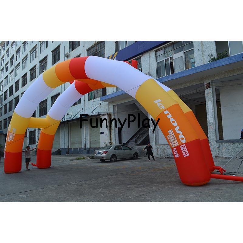[해외]에어 풍선 아치 밑의 통로, 풍선 입구 아치 핀 스크 라인, 풍선 아치 광고 Inflatables 이벤트 대여/Air Inflated Archway tent, inflatable entrance arch finsh line,Inflatable Arch Adver