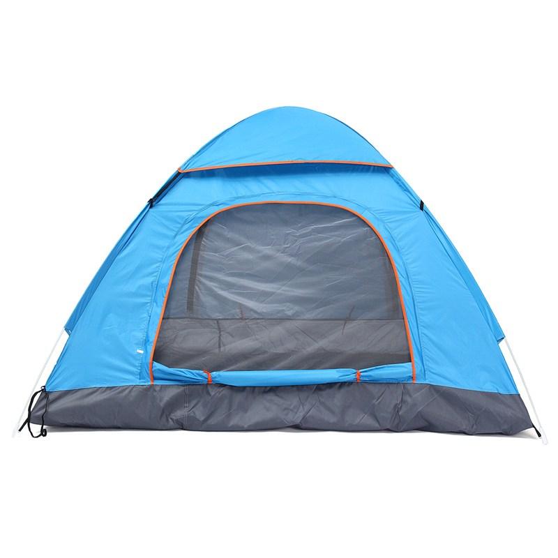 [해외]새로운 1pcs 3-4 사람 자동 빠른 열기 텐트 야외 캠핑 텐트 170T 방수 극 유리 섬유 3 시즌 관광 텐트/New 1pcs 3-4 Person Automatic Quick Open Tent Outdoor Camping Tent 170T Waterproof