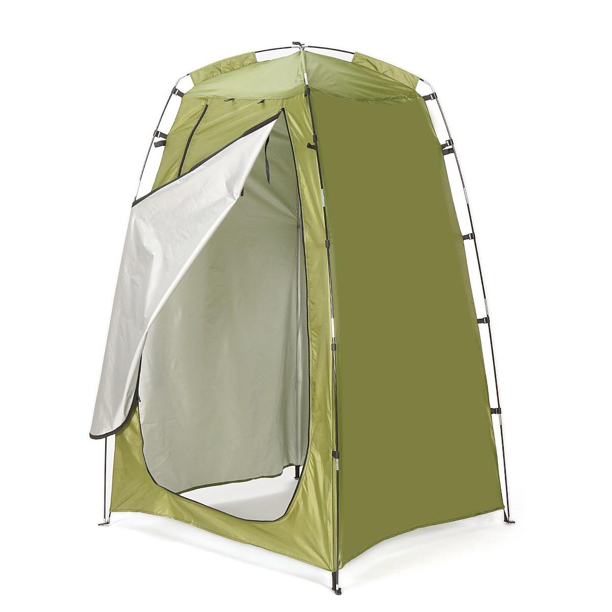 [해외]고품질 휴대용 개인 프라이버시 샤워 화장실 텐트 캠핑 텐트 야외 방수 변기 목욕 썬 쉼터 팝업 텐트/High quality Portable Privacy Shower Toilet Tent Camping tents Outdoor Waterproof Change B