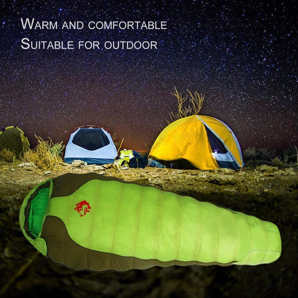 [해외]정글 킹 CY-770 휴대용 오리 나일론 슬리핑 백 편안한 야외 캠핑 여행 봉투 슬리핑 백/Jungle King CY-770 Portable Duck Down Nylon Sleeping Bag Comfortable Outdoor Camping Travel Env