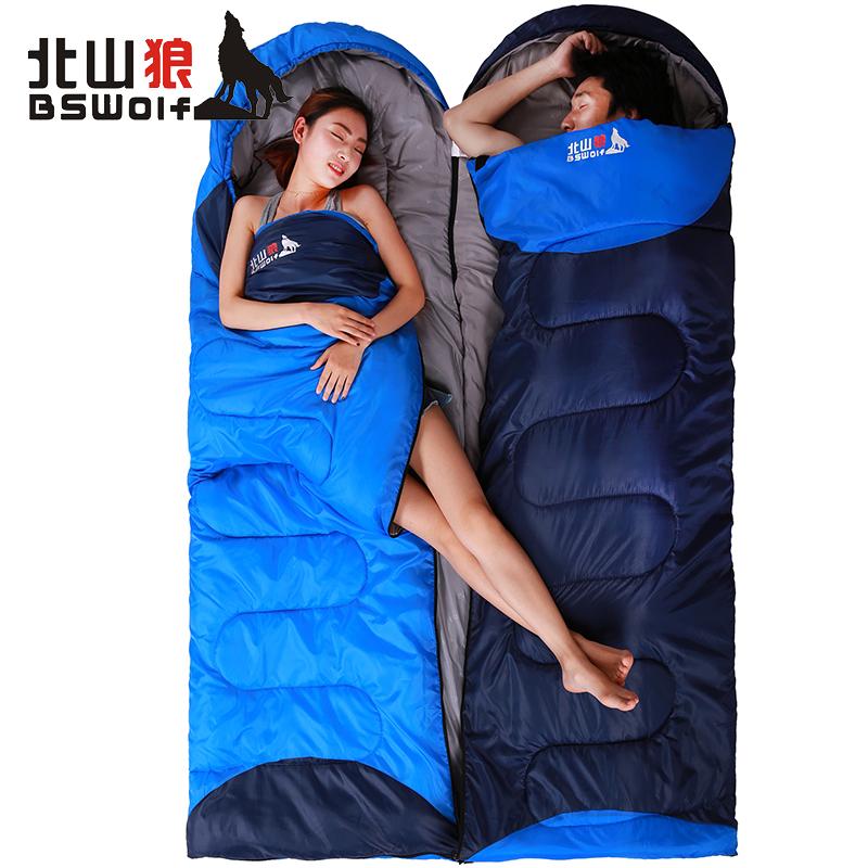 [해외]BSWolf Ultralight 코 튼 캠핑 슬리핑 백 야외 슬리핑 백 봉투 겨울 슬리핑 백 길이를 길게하여 230 * 80cm1500g/BSWolf Ultralight Cotton Camping Sleeping Bag Outdoor Sleeping Bag En
