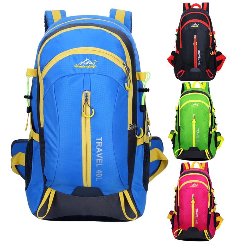 [해외]UniWaterproof 야외 배낭 운동 스포츠 가방 대용량 야외 캠핑 배낭 하이킹 스키 여행 배낭/UniWaterproof Outdoor Backpack Athletic Sport Bag Large Capacity Outdoor Camping Rucksack