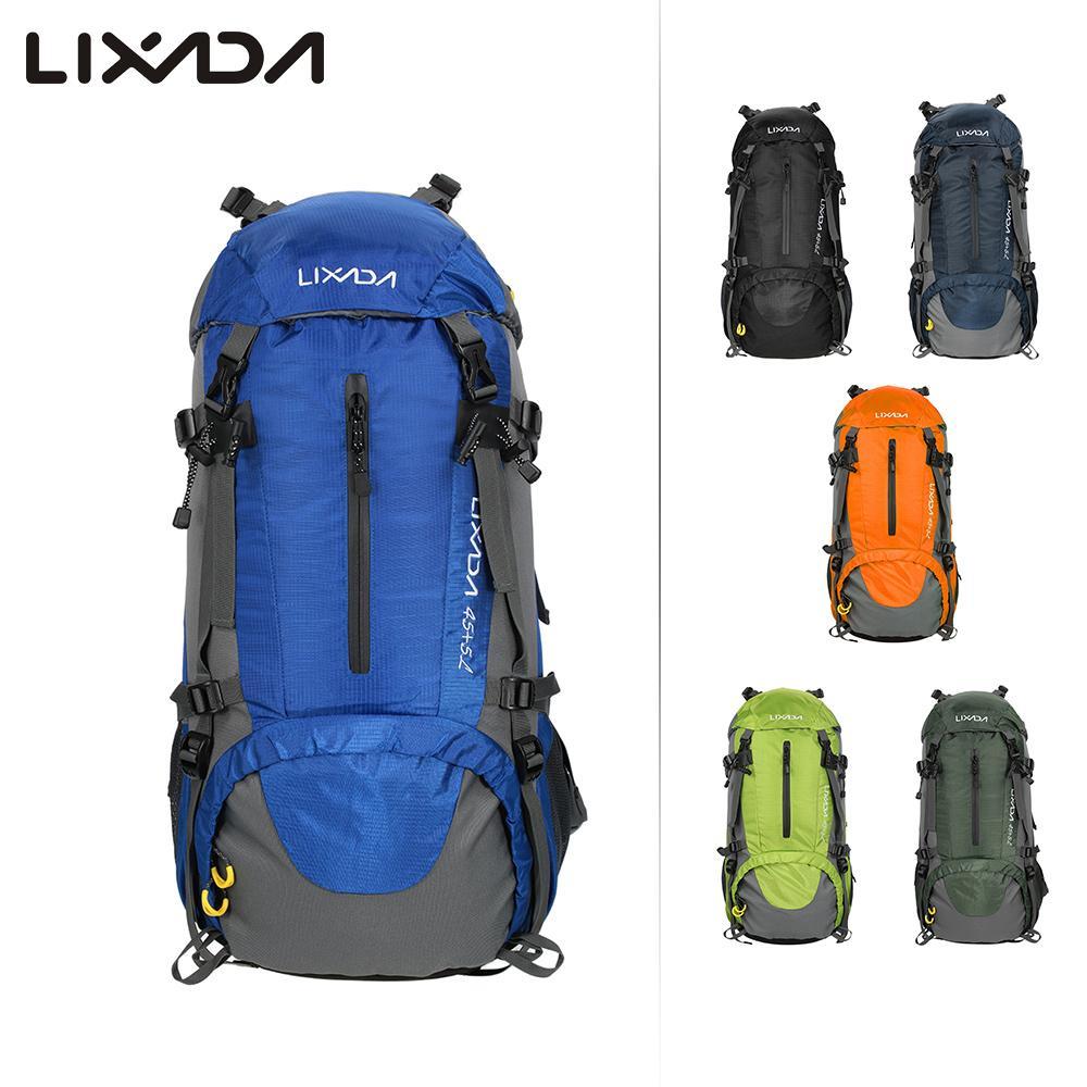 [해외]Lixada 50L 자전거 스포츠 배낭 가방 대형 방수 여행 가방 배낭 남자 나일론 야외 캠핑 하이킹 등산 배낭/Lixada 50L Bicycle Sports Backpacks Bag Large Waterproof Travel Bags Rucksack Men N