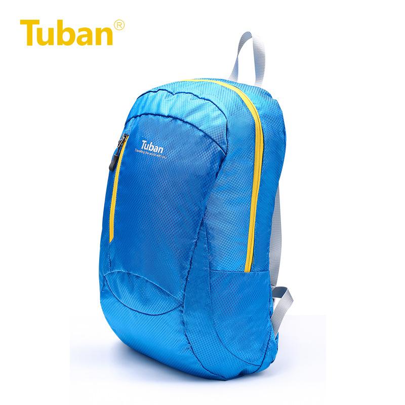 [해외]Tuban 야외 배낭 방수 스킨 백 경량 접는 어깨 소프트 백팩 하이킹 남성 스포츠 여행 학생 가방/Tuban Outdoor Backpack Waterproof Skin Bag Lightweight Folding Shoulder Soft Backpacks Hik