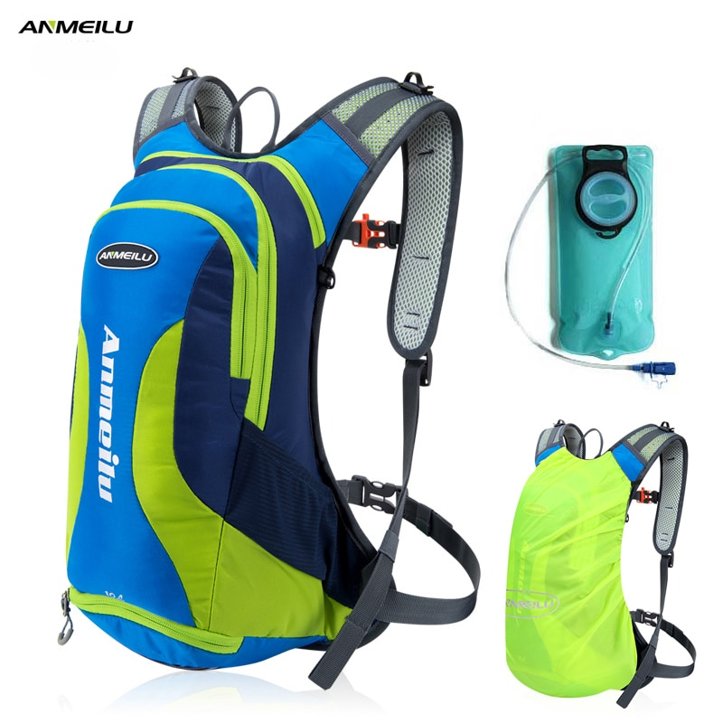 [해외]ANMEILU 10L 방수 캠핑 배낭 2L 워터 가방 야외 스포츠 가방 배낭 등산 하이킹 사이클링 배낭 레인 커버/ANMEILU 10L Waterproof Camping Backpack 2L Water Bag Outdoor Sport Bag Rucksacks C