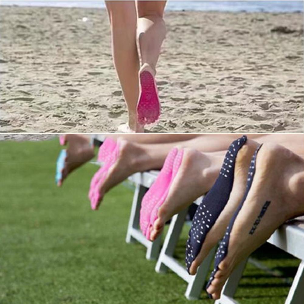 [해외]크리 에이 티브 여름 휴가 해변 깔창 방수 안티 스키드 방지 발 양말 폴리 에스테르 코튼 나노 소재 발 깔창 F/Creative Summer Holiday Beach Insole Waterproof Anti-skid Anti-cutting Foot Socks P