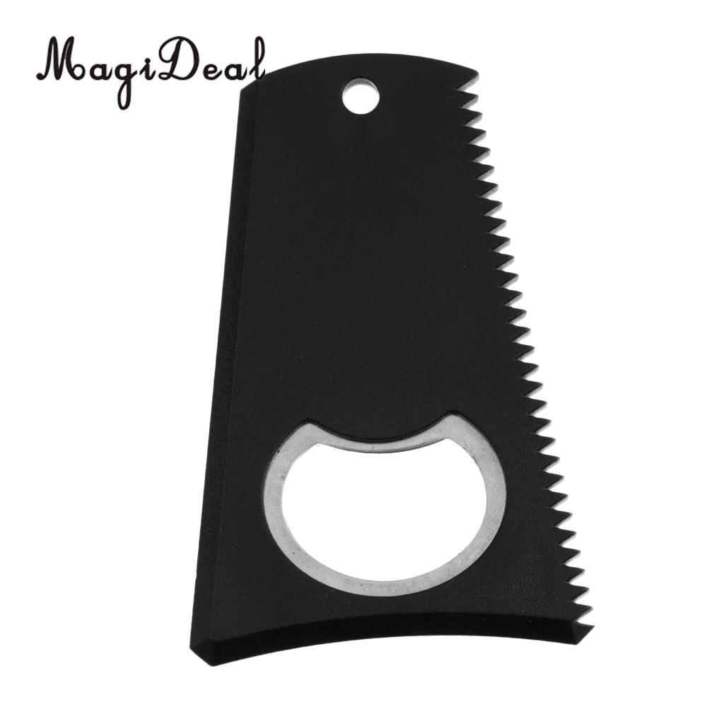 [해외]MagiDeal 전문 플라스틱 서핑 보드 왁스 빗 서핑 보드 왁스 청소 리무버 / 빗 도구 왁스 & s 견인력 향상 블랙/MagiDeal Professional Plastic Surfboard Wax Comb Surf Board Wax Cleaning R