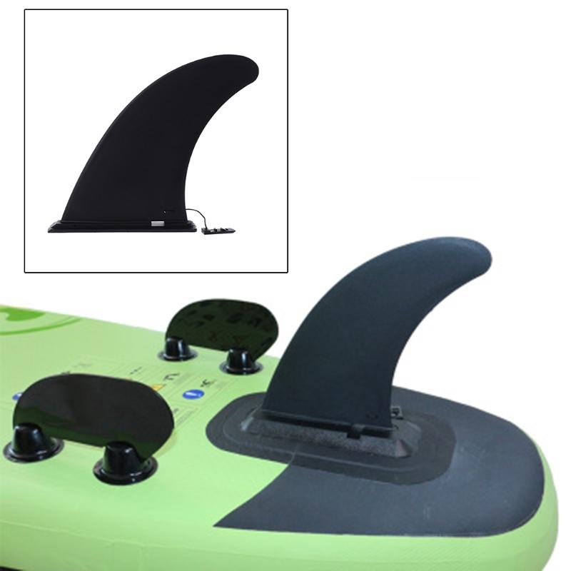 [해외]1PC 검은 나일론 서핑 보드 핀 버클 유형 카누 패들 보드 Aquaplane Center Surf/1PC Black Nylon Surfboard Fins Buckle Type Canoe Paddle Board Aquaplane Center Surf