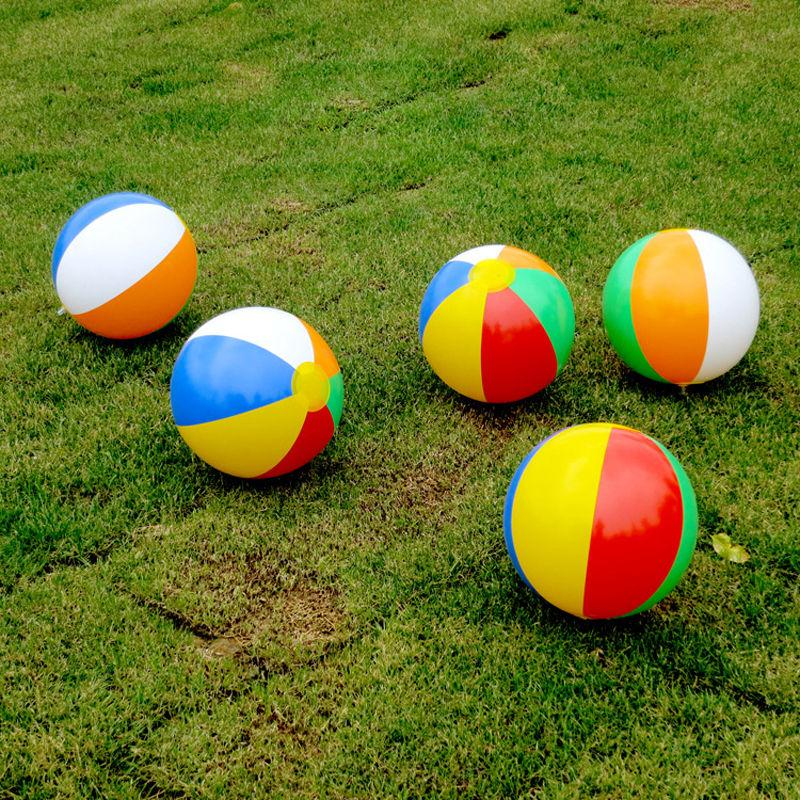 [해외]뜨거운 5pcs 풍선 비치 볼 수영장 파티 정원 재미 있은 게임 장난감 23cm/hot 5pcs Inflatable Beach Balls Swimming Pool Party Garden Funny Game Toy 23cm