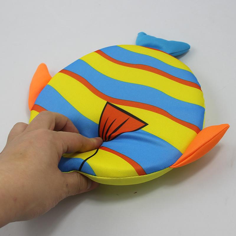 [해외]?야외 피트 니스 도구 비행 디스크 소프트 비치 프리즈 비 한 pc 임의의 패턴/ Outdoor fitness tool flying disk soft beach Frisbee one pcs random pattern