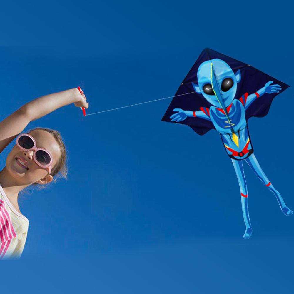 [해외]?55 인치 X 37 인치 스포츠 비치 연 날리기 쉬운 가족 야외 스포츠 장난감 어린이 키즈 재미 KitesString 핸들/ 55Inch X 37Inch Sports Beach Kite Easy to Fly Family Outdoor Sport Toy Chil