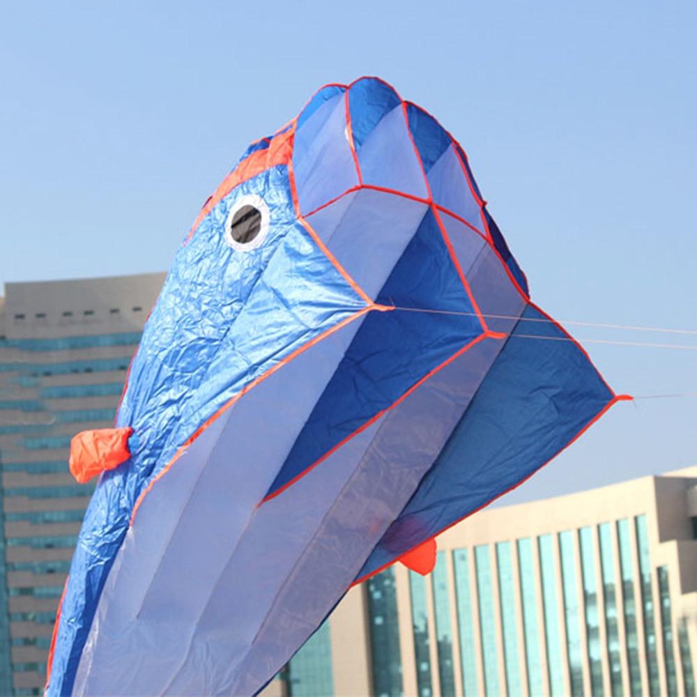 [해외]야외 3D 블루 연 스포츠 돌고래 비행 연 장난감 거 대 한 돌핀 플라이 연 연 파라포 일 거 대 한 쉽게 비행 카이트 낙하산/Outdoor 3D Blue Kite Sport Dolphins Flying Kites Toys Huge Dolphin Fly Kite