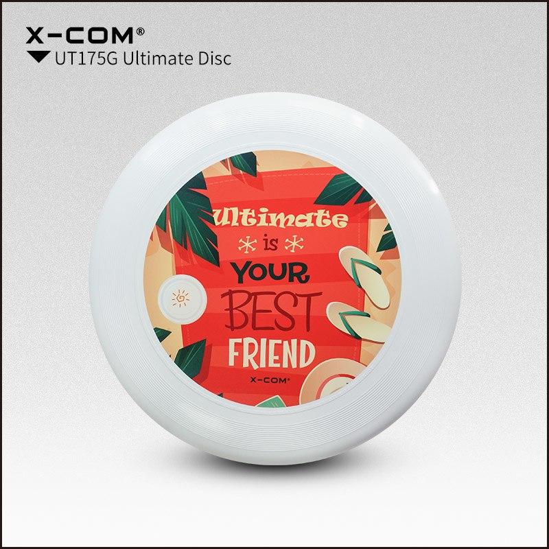 [해외]2018 Wfdf & amp; Usau X-com 175g 프로페셔널 얼티밋 디스크 컬러 프린트 - 베스트 얼티밋 프렌드/2018 Wfdf & Usau  X-com 175g Professional Ultimate Disc Color-print- B
