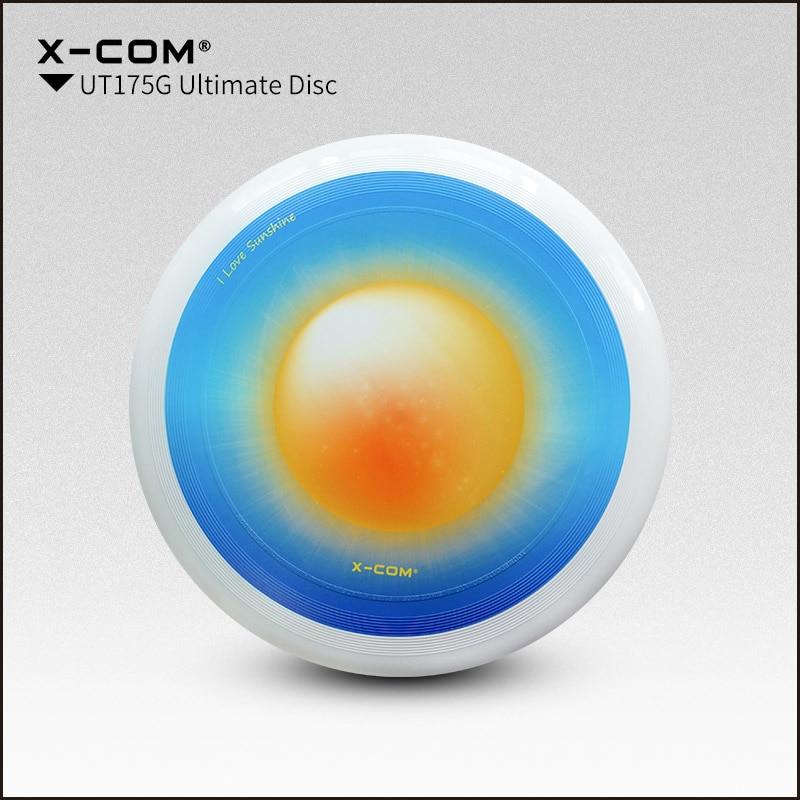 [해외]2018 Wfdf & amp; Usau X-com 175g 프로페셔널 얼티밋 디스크 컬러 - 프린트 - 선샤인/2018 Wfdf & Usau  X-com 175g Professional Ultimate Disc Color-print- Sun Shi