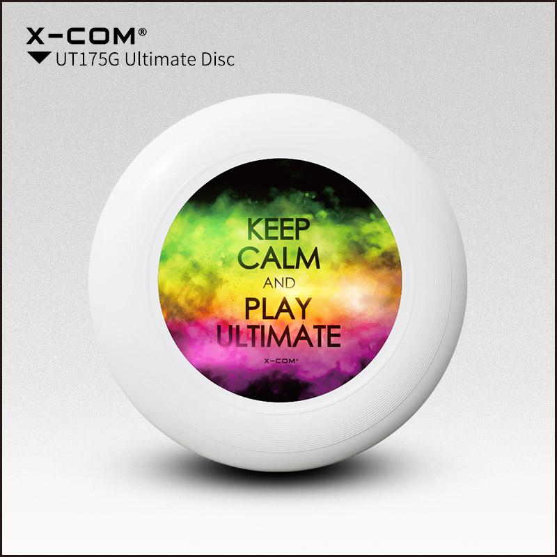 [해외]2018 Wfdf & amp; Usau X-com 175g 프로페셔널 얼티밋 디스크 컬러 프린트 - 진정 S/2018 Wfdf & Usau  X-com 175g Professional Ultimate Disc Color-print- Keep Cal