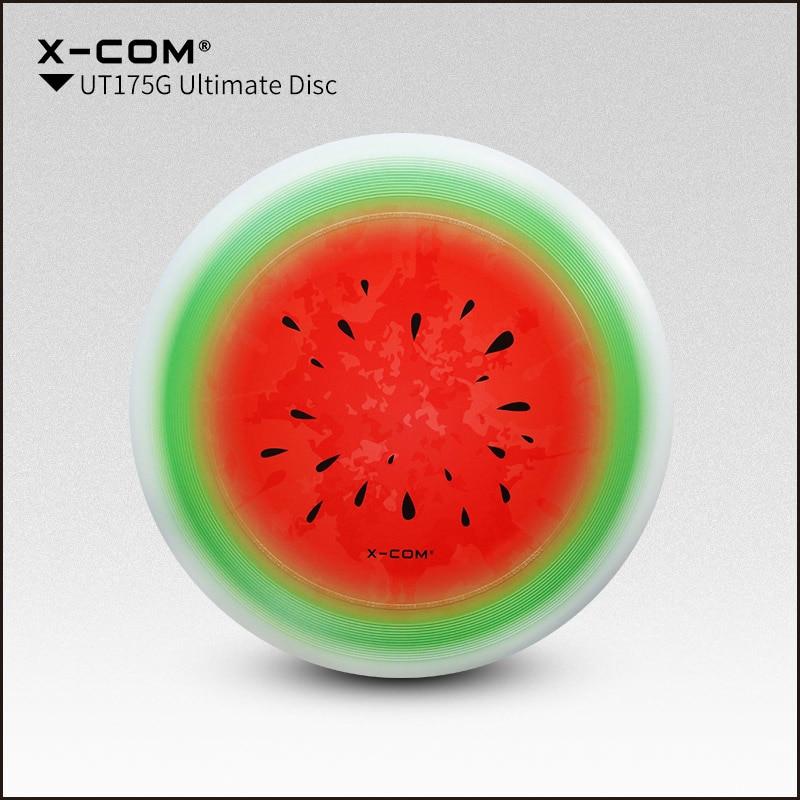 [해외]2018 Wfdf & amp; Usau X-com 175g 프로페셔널 얼티밋 디스크 컬러 프린트 - 수박/2018 Wfdf & Usau  X-com 175g Professional Ultimate Disc Color-print- Watermelon