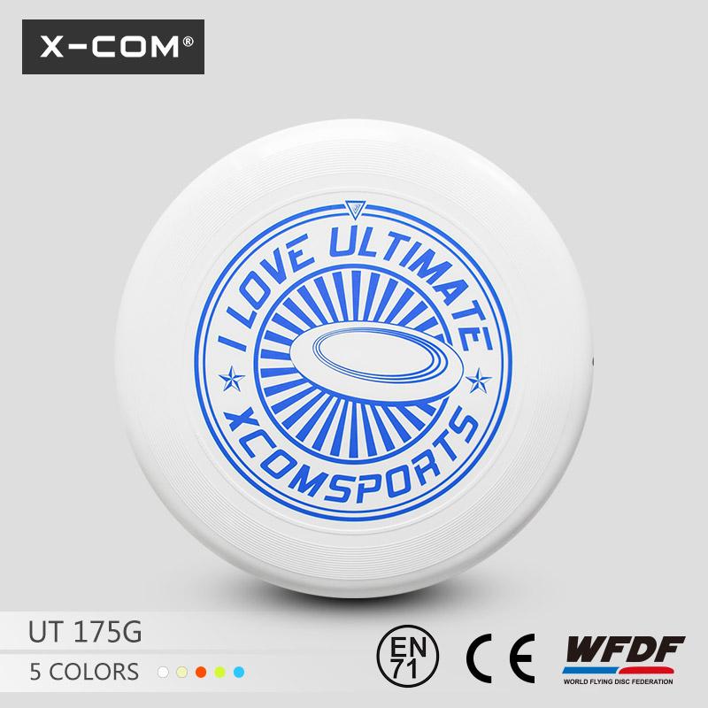 [해외]2018 Wfdf & amp; Usau X-com 175g 프로페셔널 얼티미트 트레이닝 디스크 -I Love Ultimate/2018  Wfdf & Usau  X-com 175g Professional Ultimate Training Disc -I