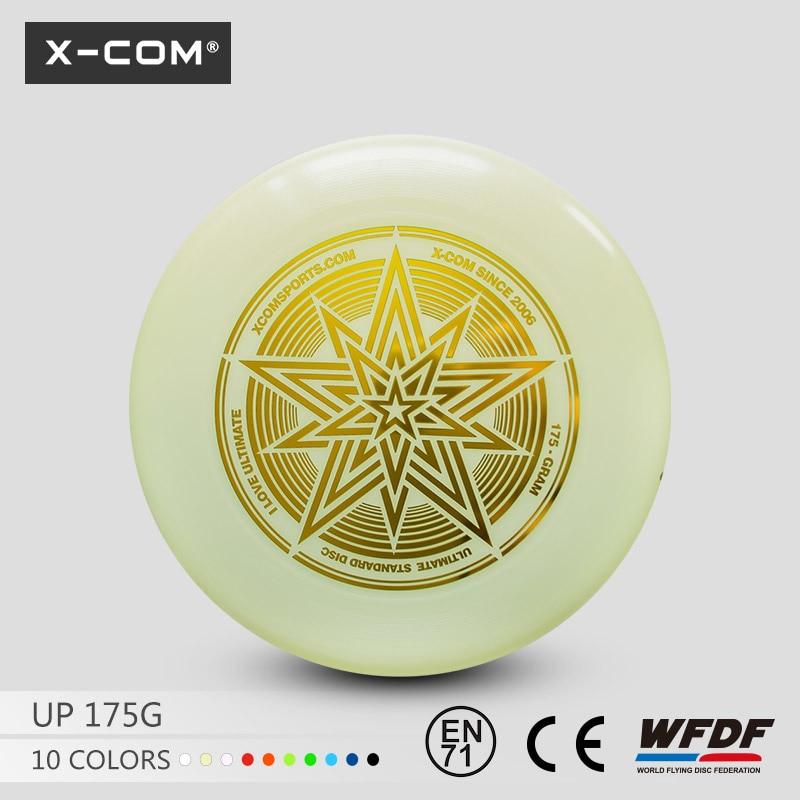 [해외]2018 Wfdf & amp; Usau, Dark ComLight에서 X-com 175g 프로페셔널 얼티밋 게임 디스크 스타 글로우 승인/2018 Wfdf & Usau Approved  X-com 175g Professional Ultimate G
