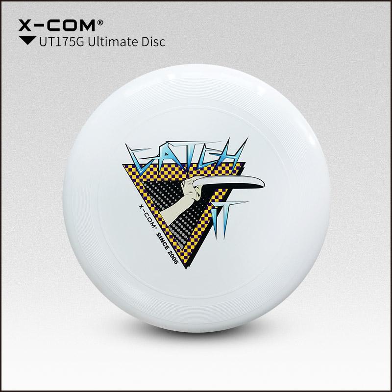 [해외]2018 Wfdf & amp; Usau X-com 175g Professional Ultimate 디스크 컬러 - 프린트 - 캐치/2018 Wfdf & Usau  X-com 175g Professional Ultimate Disc Color-pri
