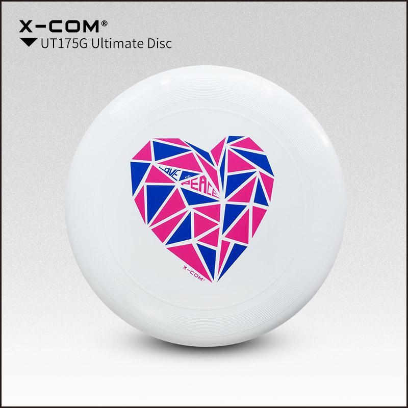 [해외]2018 Wfdf & amp; 우사 우 X 컴 175g 프로 페셔널 얼티밋 디스크 컬러 프린트 - 평화의 심장/2018 Wfdf & Usau  X-com 175g Professional Ultimate Disc Color-print- Peace H