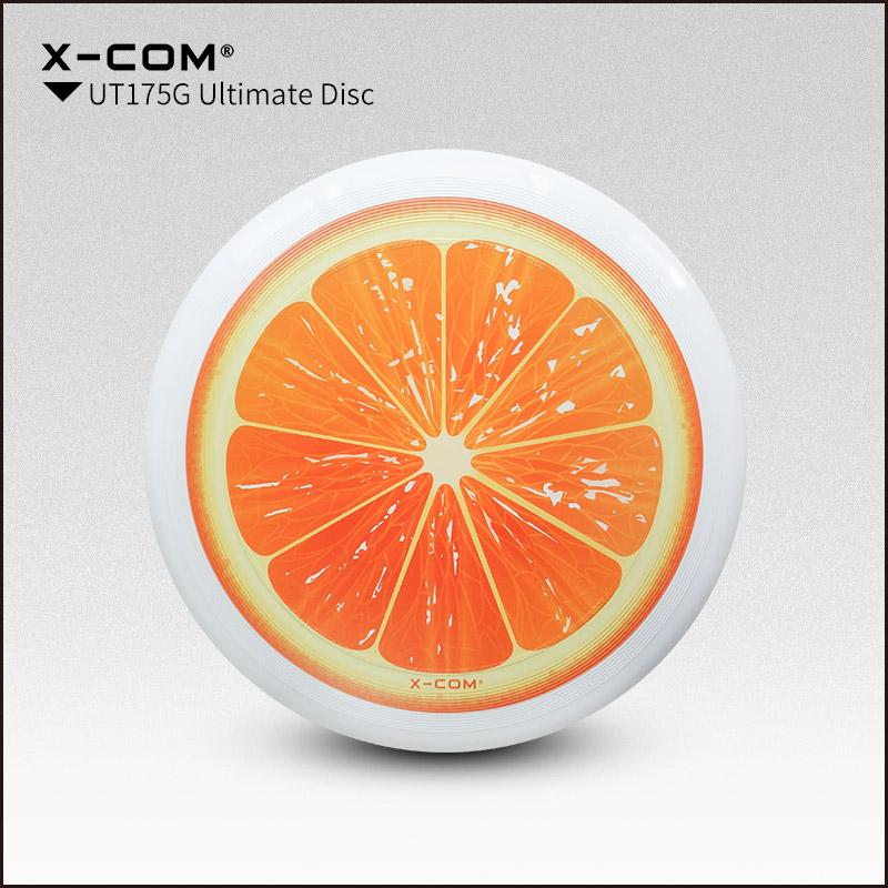 [해외]2018 Wfdf & amp; Usau X-com 175g 프로페셔널 얼티밋 디스크 컬러 - 프린트 - 오렌지/2018 Wfdf & Usau  X-com 175g Professional Ultimate Disc Color-print- Orange