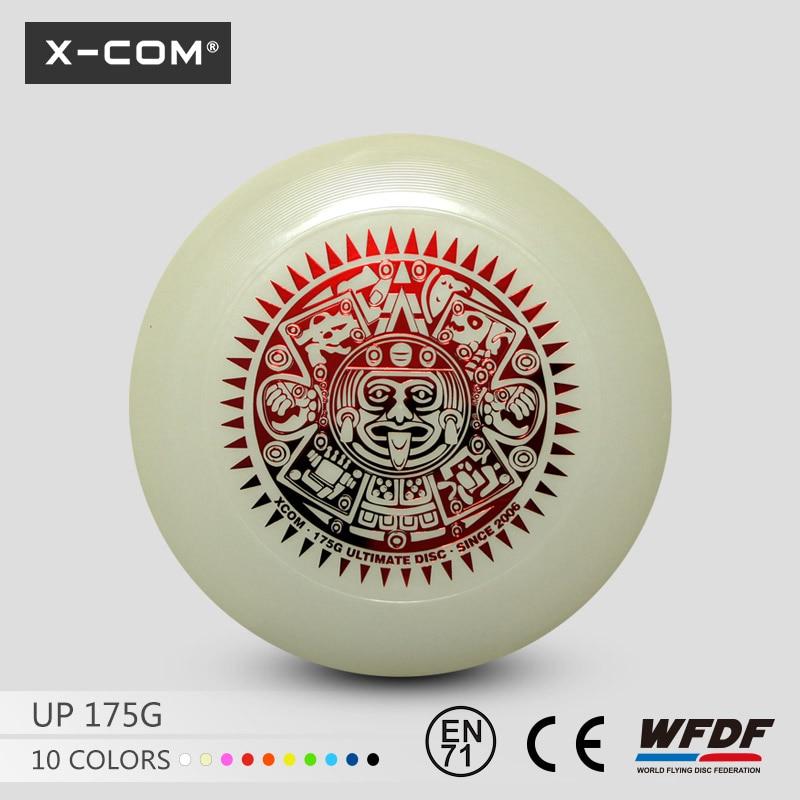 [해외]2018 Wfdf & amp; Usau 승인 X-com 플라스틱 175g Professional Ultimate 게임 디스크 Maya Glow Dark/2018 Wfdf & Usau Approved  X-com Plastic 175g Profess