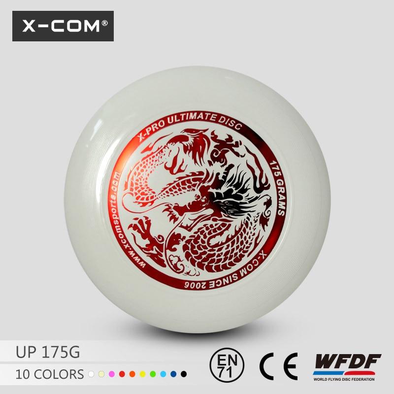 [해외]2018 WFDF & amp; USAU 승인 X-COM 175g 프로페셔널 얼티 메이트 게임 디스크 DRAGON/2018 WFDF & USAU Approved  X-COM 175g Professional Ultimate Game Disc  DRAG