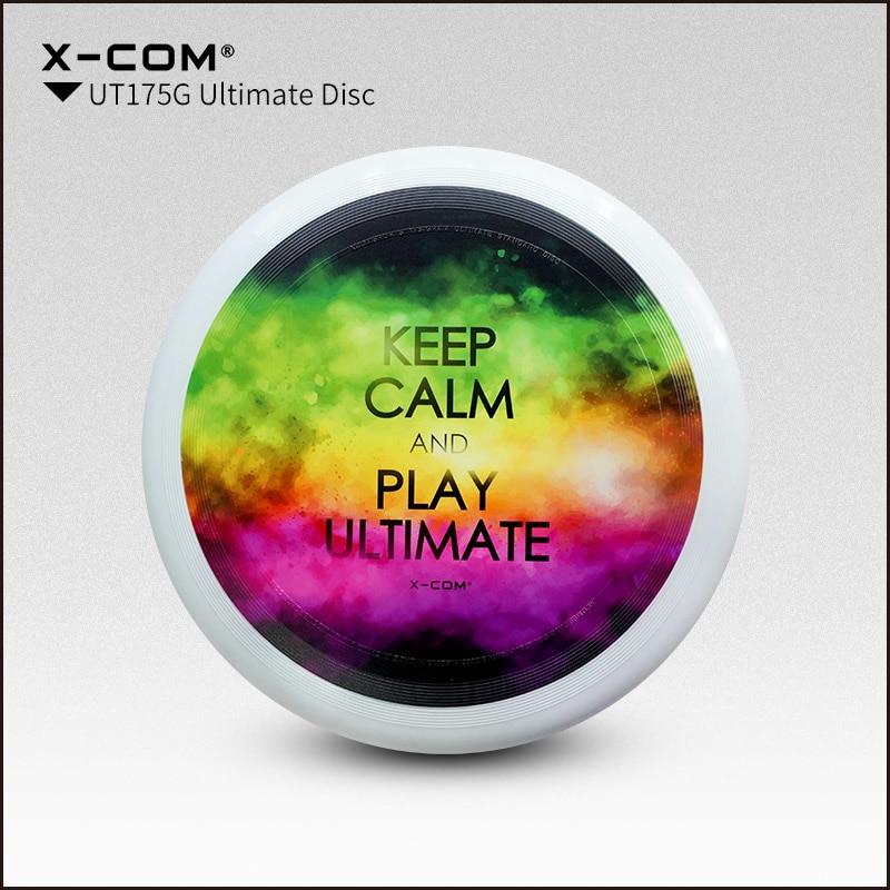 [해외]2018 Wfdf & amp; Usau X-com 175g 프로페셔널 얼티미트 디스크 컬러 프린트 - 조용히 유지/2018 Wfdf & Usau  X-com 175g Professional Ultimate Disc Color-print- Keep