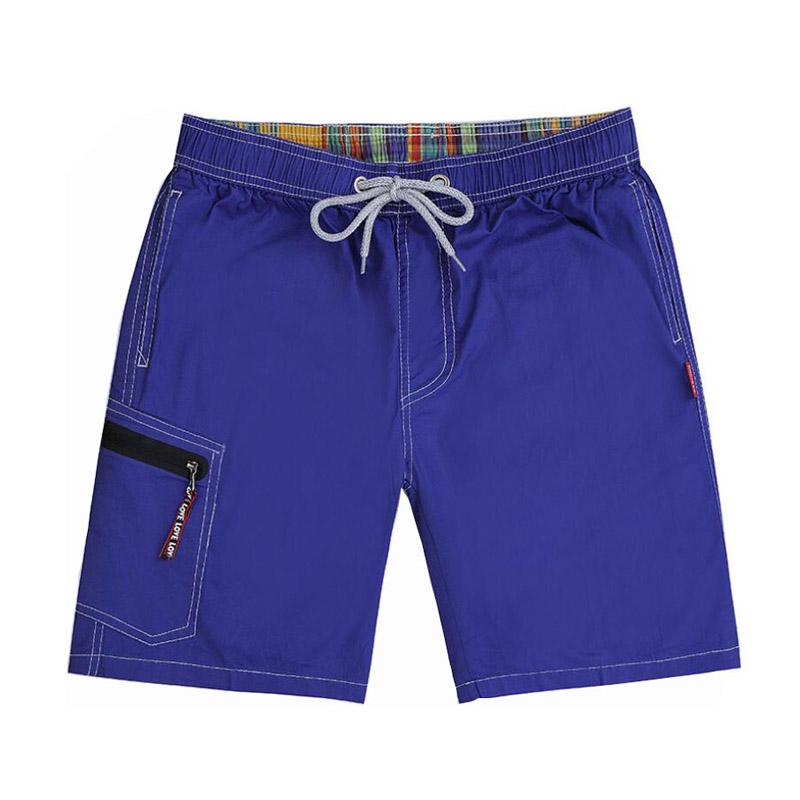 [해외]여름 솔리드 퀵 드라이 비치 반바지 남자 버뮤다 보드 반바지 수영복 코튼 느슨한 스포츠 반바지 망 땀이화물 운동 반바지/Summer Solid Quick Dry Beach Shorts Men Bermuda Board Shorts Swimwear Cotton Lo