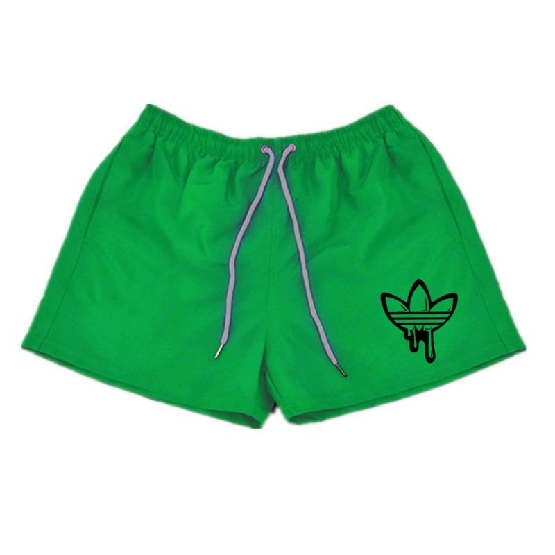 [해외]?여름 코 튼 재미 비치 반바지 남자 패션 낙서 인쇄 ADI 비치 반바지 남자 Laufende Surffing 반바지/ Summer Cotton funny Beach Shorts men Fashion doodle Print ADI Beach Shorts men