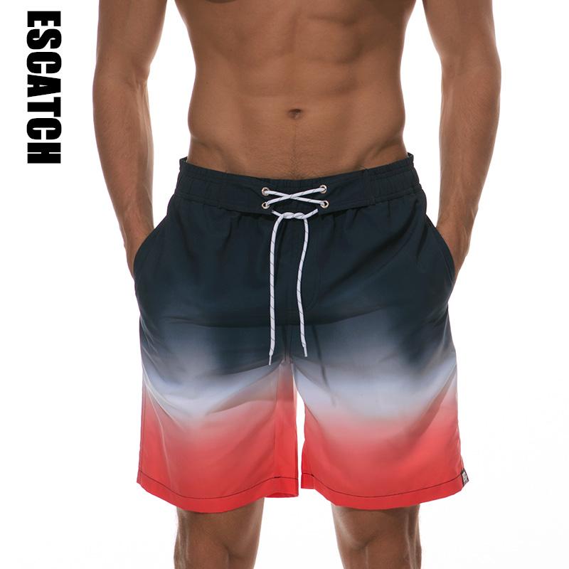 [해외]에스카치 브랜드 남자 보드 반바지 남자 & s 수영복 해변 서핑 바지 빠른 건조 인쇄 반바지 남자 Siwmwear 수영 짧은/Escatch Brand Men Board Shorts Men&s Swimwear Beach Surfing Pants Quick