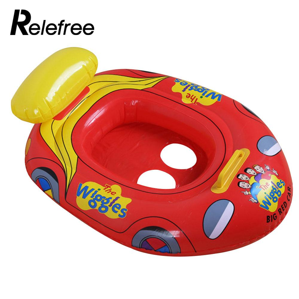 [해외]휴대용 수영 반지 비치 풍선 수영 플로트 부동 보트 모양의 안전 PVC 여름 만화/Portable Swimming Ring Beach Inflatable Swim Float Floating Boat Car Shape Safety PVC Summer Cartoon
