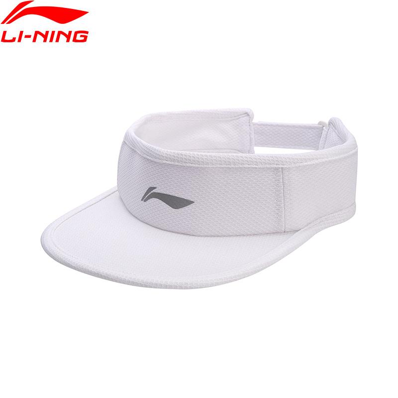 [해외]Li-Ning 남자 여자 빈 상단 실행 모자 블랙 화이트 폴리 에스터 조정 가능한 모자 LiNing 반사 스포츠 야구 모자 AMXN004/Li-Ning Men Women Empty Top Running Cap Black White Polyester Adjusta