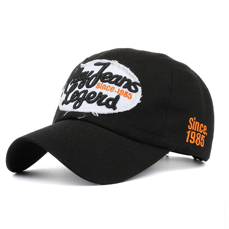 [해외]봄 데님 Snapback 모자 여성 코튼 기본 볼 캡 실행 남성 자수 모자 여성 조절 힙합 아빠 모자 뼈/Spring Denim Snapback Caps Women Cotton Base Ball Cap Run Men Embroidery Fitted Hat for