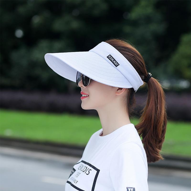 [해외]스포츠 빈 탑 모자 골프 테니스 바이저 햇 야구 성인 캡 여성과 조정 가능한 크기 야외 모자 레저 태양 실행 모자/Sports Empty Top hat Golf Tennis Visor Hat Baseball Adult Caps Women&s Adjustable