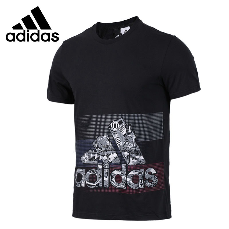 [해외]Original New Arrival 2018 아디다스 GFX T ILLUSTRTE 남성용 T 셔츠 반팔 운동복/Original New Arrival 2018 Adidas GFX T ILLUSTRTE Men&s T-shirts short sleeve Sports