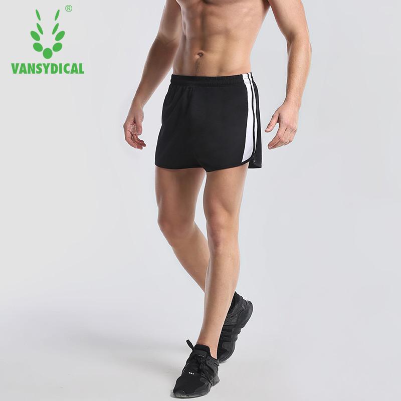 [해외]Vansydical 러닝 스포츠 반바지 남자 Loose Sweat 통기성 야외 마라톤 달리기 바지 체육관 트레이닝 휘트니스 반바지/Vansydical Running Sports Shorts Men Loose Sweat Breathable Outdoor Marat