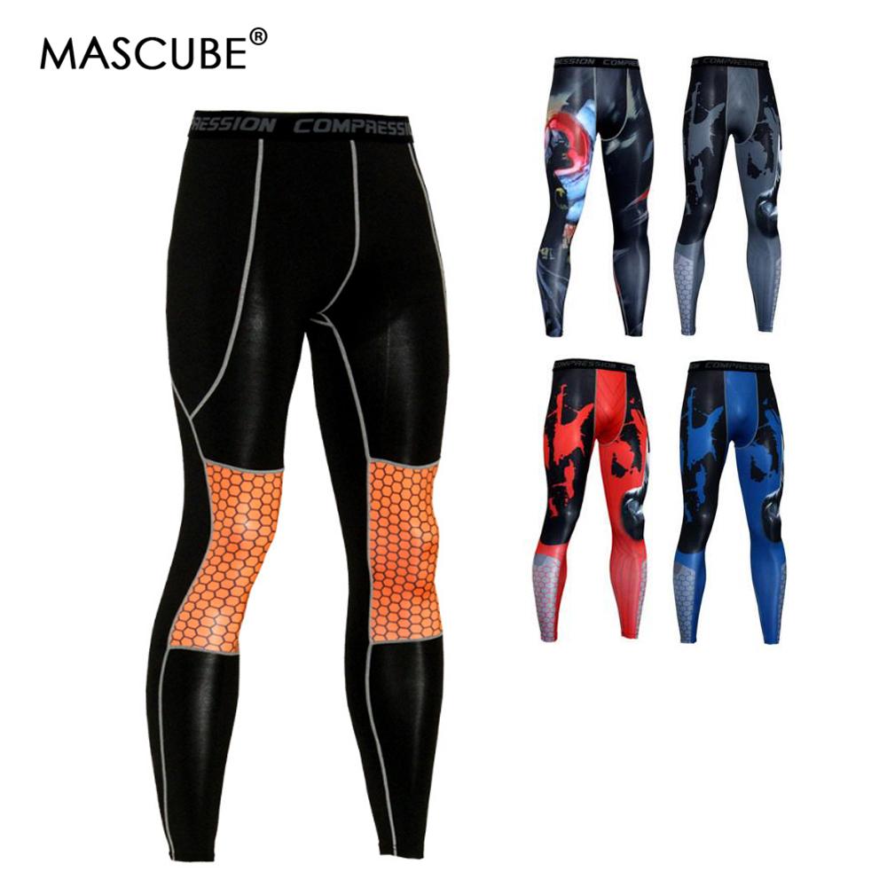 [해외]MASCUBE 남성 스타킹 러닝 GYM 피트니스 압축 레깅스 조깅 스포츠 밀크 파이버 팬츠 운동 Quick-Drying Trousers/MASCUBE Men Tights Running GYM Fitness Compression Leggings Jogging Sp