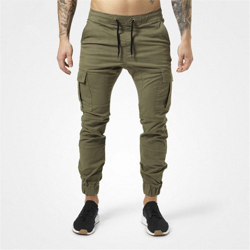 [해외]새 스포츠 바지 러닝 바지 남성 조깅가 여름 연필 하렘 바지 남성 군대 녹색 바지 루즈 한 바지 카모 체육관 조깅 남자/New Sport Trousers Running Pants Men Jogger Summer Pencil Harem Pants Men Army