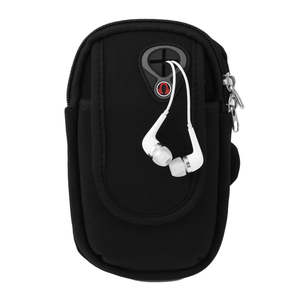 [해외]5.5 & 핸드폰에 대 한 방수 스포츠 팔 밴드 홀더 파우치 케이스 이어폰 구멍/Waterproof Sport Arm Band Holder Pouch Case Earphone Hole For 5.5& Cellphone