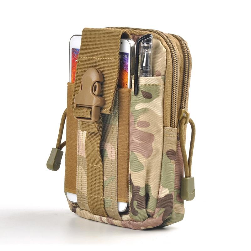 [해외]허리 가방 방수 남자 허리 가방 다기능 나일론 육군 밀리터리 작은 가방 엉덩이 부랑자 가방 캔버스 스포츠 작은 허리 파우치/Waist Bags Waterproof Men Waist Bag Multifunction Nylon Army Military Small B