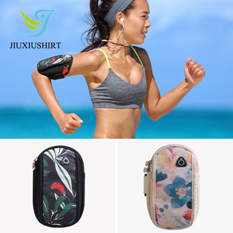 [해외]실행 완장 가방 케이스 커버 실행 완장 범용 방수 스포츠 휴대 전화 홀더 야외 스포츠 전화 꽃 팔 가방/Running Armband Bag Case Cover Running Armband Universal Waterproof Sport Mobile Phone H