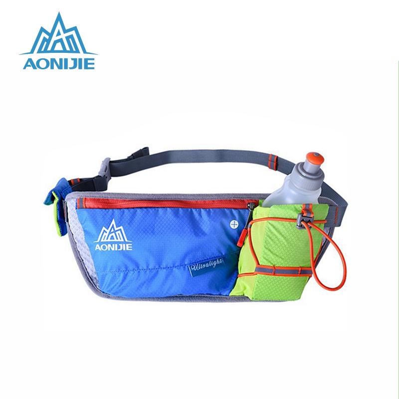[해외]AONIJIE 러닝 허리 가방 야외 경량 수화 벨트 물병 힙 백 핸디 스포츠 하이킹 경주 용 헬스/AONIJIE Running Waist Bag Outdoor Lightweight Hydration Belt Water Bottle Hip Bag  Handy Sp