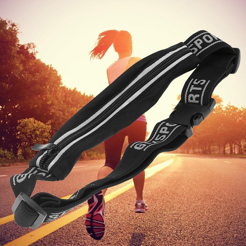 [해외]야외 실행 허리 가방 방수 휴대 전화 홀더 조깅 벨트 배꼽 가방 여성 체육관 휘트니스 가방 레이디 스포츠 액세서리/Outdoor Running Waist Bag Waterproof Mobile Phone Holder Jogging Belt Belly Bag Wo