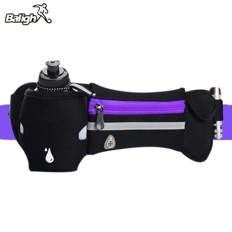 [해외]남자 여자 휴대용 실행 수 분 벨트 반사 실행 수 중 벨트 허리 팩 야외 다기능 실행 가방/Men Women Portable Running Hydration Belt Reflective Running Water Belt  Waist Pack Outdoor Mul